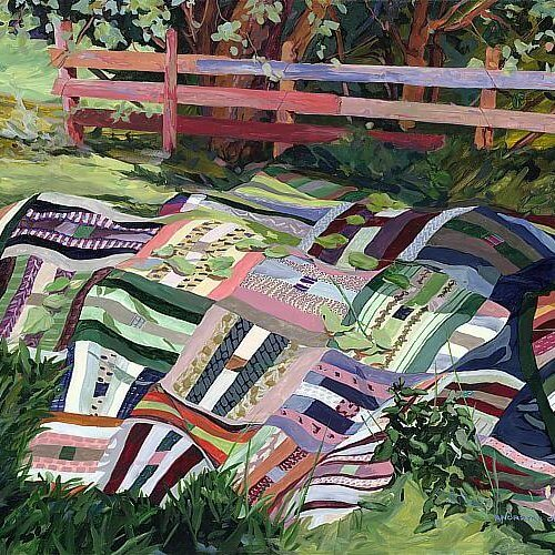 Quilt Paintings